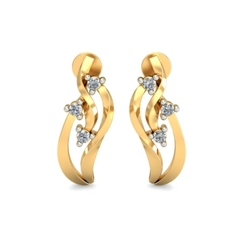 Arkina Diamond's Interlace earrings