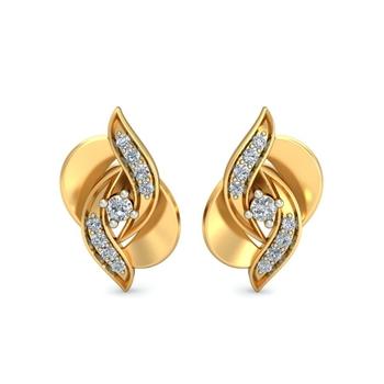 Arkina Diamond's Dauntless Laurel Earrings