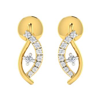 Arkina Diamond's Miroir Earring