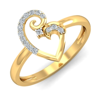 Arkina Diamond's Ally Gold Ring