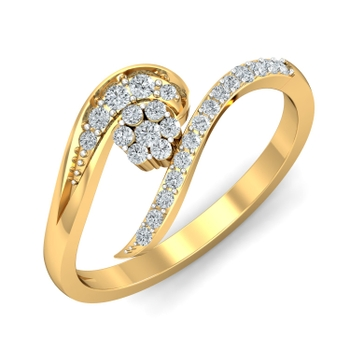 Arkina Diamond's Decent diamond ring