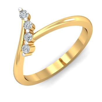 Arkina Diamond's four diamond sequence ring