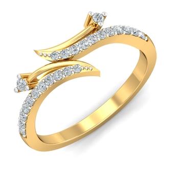 Arkina Diamond's fine touch diamond ring