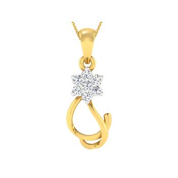 Arkina Diamond's diamond star pendent