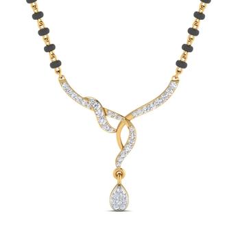 Arkina Diamond's twisted style mangalsutra