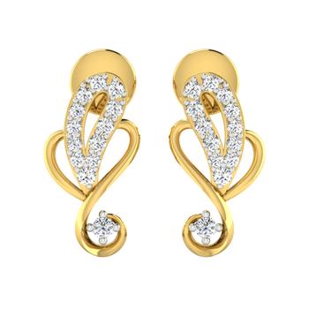 Arkina Diamond's Curly earrings