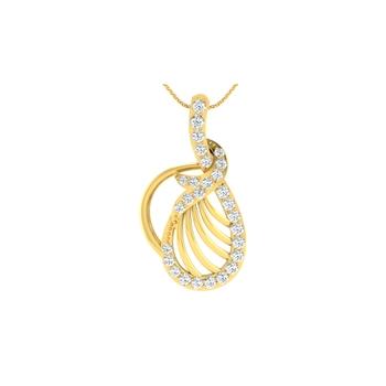 Arkina Diamond's Aron Arc Pendant