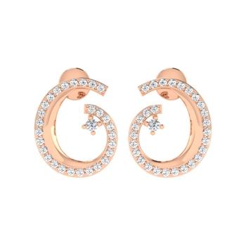 Arkina Diamond's Diamond Smik earrings