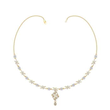Arkina Diamond's fashion end necklace