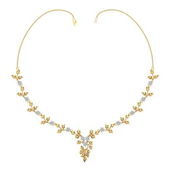 Arkina Diamond's Dazzling diamonds necklace
