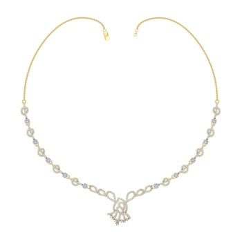 Arkina Diamond's Stylish glowly necklace