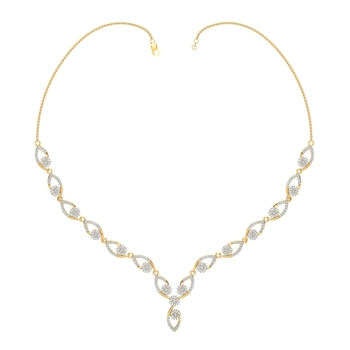 Arkina Diamond's Diamond Cascade Necklace