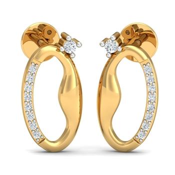 Arkina Diamond's Glowing Spunk Earrings