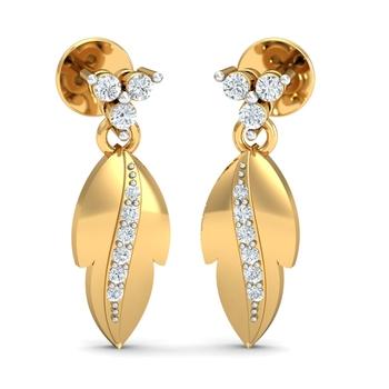 Arkina Diamond's Nature's Princess Earrings