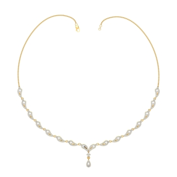 Arkina Diamond's Lovely droplet necklace