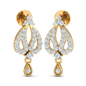 Arkina Diamond's Joint droplet earrings