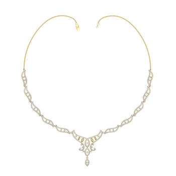 Arkina Diamond's Royal fashioned necklace