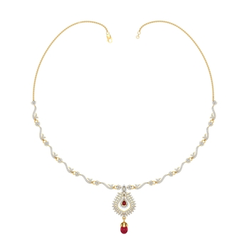 Arkina Diamond's Ruby Heritage Necklace