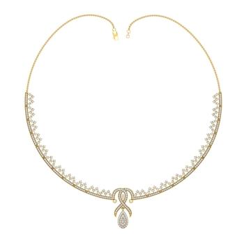 Arkina Diamond's Classic dazzler necklace