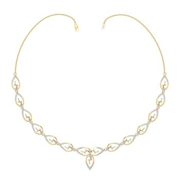 Arkina Diamond's Lit Wine Necklace