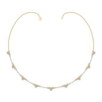 Arkina Diamond's Dainty Exhibit Necklace