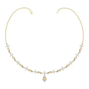 Arkina Diamond's Diamond Lustre Necklace