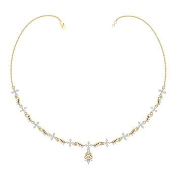 Arkina Diamond's Diamond Lustre Necklace