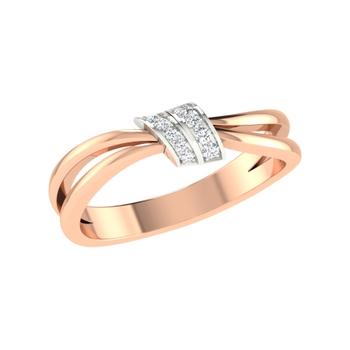 Arkina Diamond's Starstruck Twisted Ring