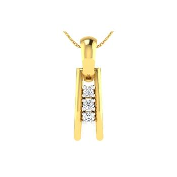 Arkina Diamond's Modern style pendent