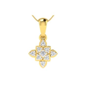 Arkina Diamond's Gloomy flower pendent