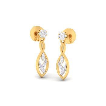 Arkina Diamond's Dazzling Beauty Earrings