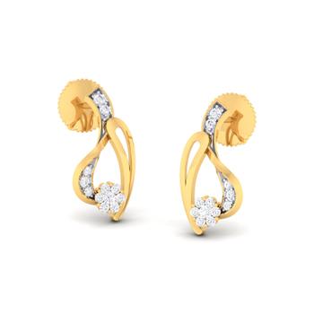 Arkina Diamond's Pretty shine earrings