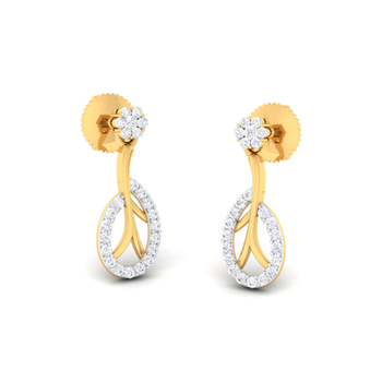 Arkina Diamond's Shinning O Earrings