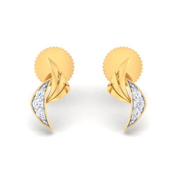 Arkina Diamond's Fancy Arc earrings