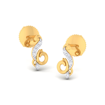 Arkina Diamond's Pristine Beauty Earrings