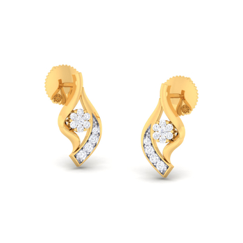 Arkina Diamond's Fancy eye earrings