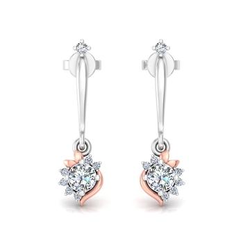exceptional flower earrings