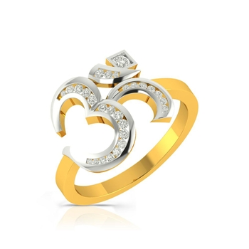 Buy Charu Jewels Diamond Ladies Ring CJLR0062 Online in India