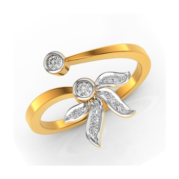 Buy Charu Jewels Diamond Ladies Ring CJLR0078 Online in India