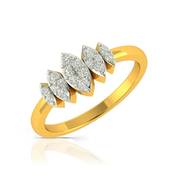Buy Charu Jewels Diamond Ladies Ring CJLR0360 Online in India