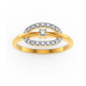 Buy Charu Jewels Diamond Ladies Ring CJLR0373 Online in India
