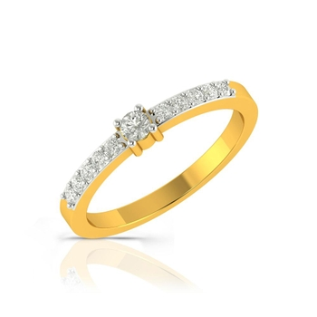 Buy Charu Jewels Diamond Ladies Ring CJLR0427 Online in India