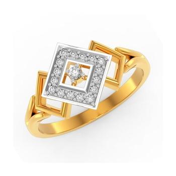 Buy Charu Jewels Diamond Ladies Ring CJLR0486 Online in India