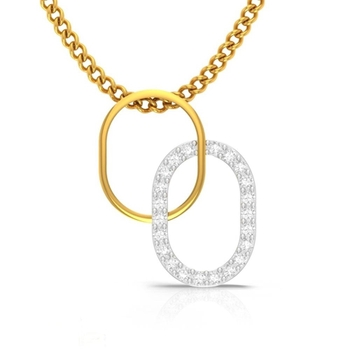 Venn Love Diamond Pendant  CJSP0096