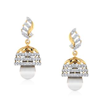 ISKI USKI Ethereal Diamond Jhumki