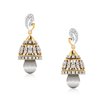 ISKI USKI The Anisa Diamond Jhumkas