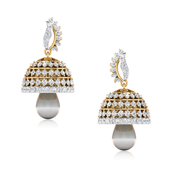 ISKI USKI The Aditri Diamond Jhumkas