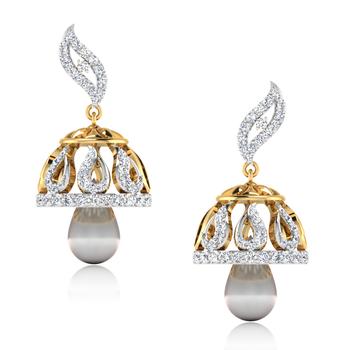 ISKI USKI The Equira Diamond Jhumkas