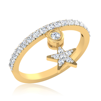 Iski Uski Mia Heart Ring