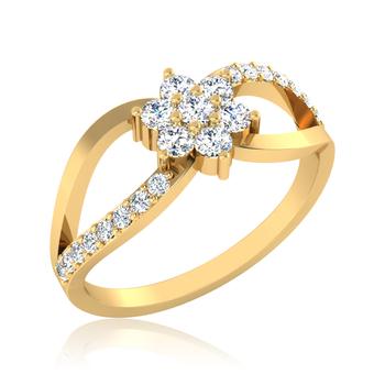 Iski Uski Celestial Cluster Ring